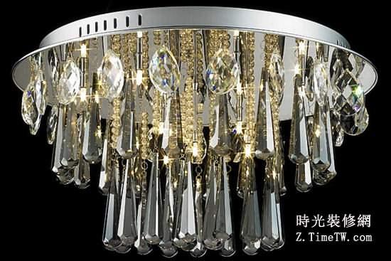 水晶吊燈什麼牌子好 水晶吊燈選購