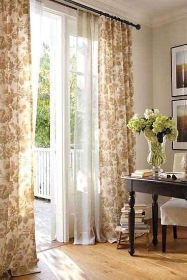 客廳陽台窗簾怎麼佈置
