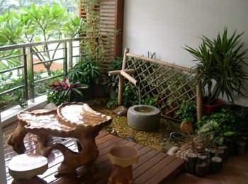 露台花園的設計原則