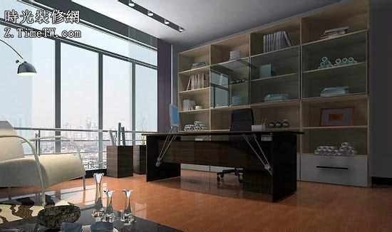 小戶型客廳巧劃分 輕鬆擁有書房空間