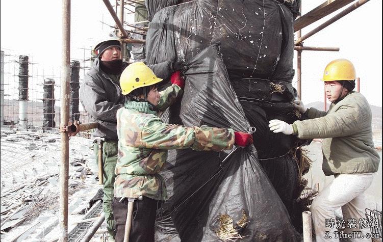 混凝土冬季施工如何得到天暖施工時的效果