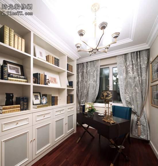 2015家裝古典書房的設計效果圖