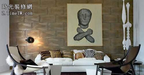 房屋客廳裝修設計 一道靚麗的風景線