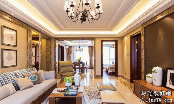 客廳裝修效果圖展示 2015最新圖片賞析