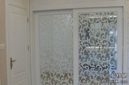 藝術玻璃門製作工藝  藝術玻璃門介紹