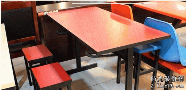 快餐桌尺寸介紹   快餐桌尺寸標準