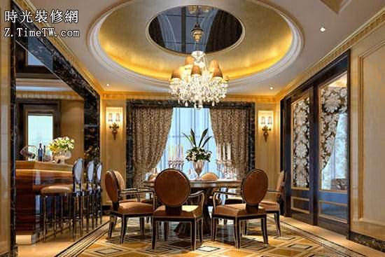 裝修知識 歐式風格餐廳設計說明