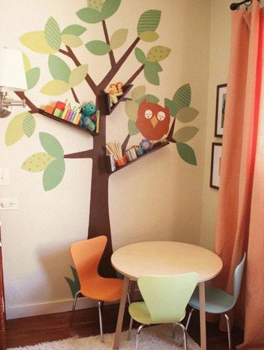 開放式書房裝修效果圖  書房還可以這麼裝