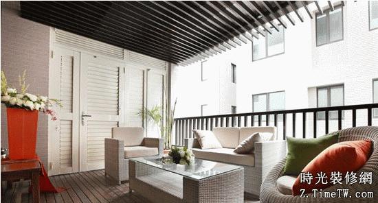 最新露台陽光房裝修設計 自由沐浴陽光