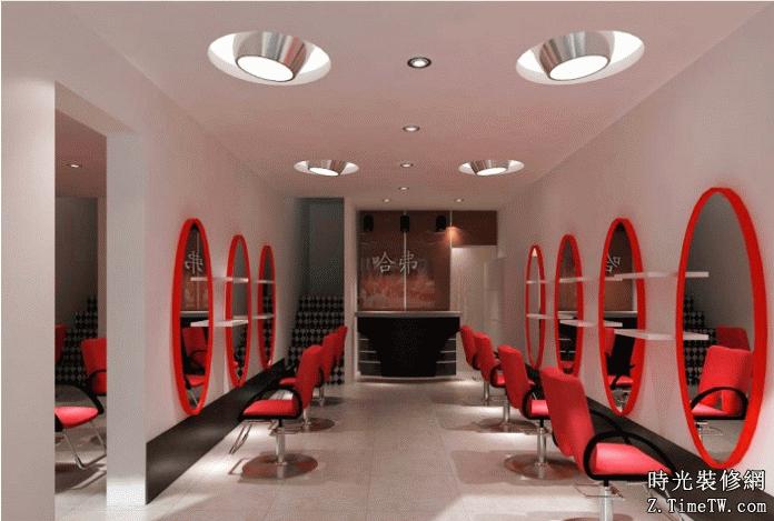 2015最新30平米理髮店裝修圖片大全