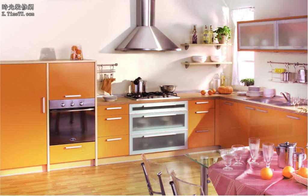 廚房傢俱風水之櫥櫃顏色風水禁忌
